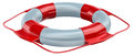 Lifebuoy as life saving equipment Stock Photo