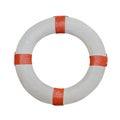Lifebuoy isolated on white background Royalty Free Stock Photo