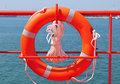 Lifebuoy (safety ring) Royalty Free Stock Images