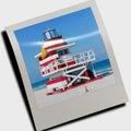 Lifeguard cabin Stock Images