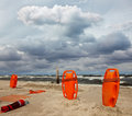 Lifeguard equipment Royalty Free Stock Photos