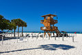 Lifeguard Observation Tower Royalty Free Stock Photo