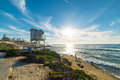 Lifeguard tower in La Jolla Royalty Free Stock Photo
