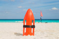Lifeguards on the beach. Sea, Ocean Royalty Free Stock Photo