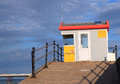 Lifeguards lookout post. Royalty Free Stock Photos