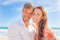 Lifestyle people happy couple smiling in camera Royalty Free Stock Photos