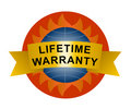 Lifetime warranty icon Stock Photography