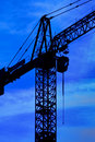Lifting crane Stock Image