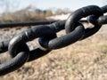 Ligações Chain Foto de Stock Royalty Free