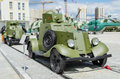 Light armored car BA-20 Royalty Free Stock Photo