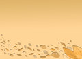 A light autumn background Royalty Free Stock Photo