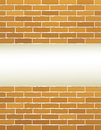 Light background and brick wall grunge with place for text Stock Photography