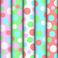 Light background rolls color fabric rowed Stock Images