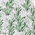 Light background from white and green leaves. Natural texture for fabrics, tiles. Vector ornament