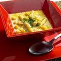 Light bean soup Royalty Free Stock Photo
