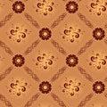 Light beige vector geometrical seamless texture