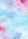 Light blue abstract polygonal background Royalty Free Stock Photo