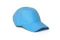 Light blue adult golf or baseball cap Royalty Free Stock Photo