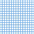 Light Blue Gingham Stock Image