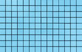 Light blue mosaic tiles texture Royalty Free Stock Photo