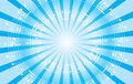 Light blue music background with radial rays vector eps Stock Photography