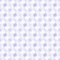 Light blue pattern seamless illustration Royalty Free Stock Images