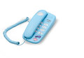 Light blue telephone Royalty Free Stock Photo
