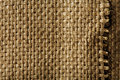 Light brown canvas texture Royalty Free Stock Photos