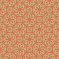 Light brown colors round grid pattern korean traditional patter design series Royalty Free Stock Photo
