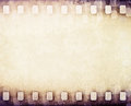 Light brown film strip background vintage Stock Photos