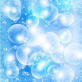 Light bubbles Stock Images