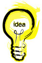 Light Bulb Idea Royalty Free Stock Photos