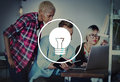 Light Bulb Ideas Inspiration VIsion Innovation Power Concept Royalty Free Stock Photo