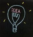 Light bulb, innovation Stock Photo