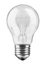 Light bulb isolated realistic photo image Stock Photo