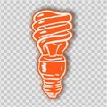 Light Bulb line icon vector, isolated on white background. Idea sign, solution, thinking concept. Lighting Electric lamp. Electric