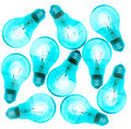 Light bulb pattern background.jpg Royalty Free Stock Photo