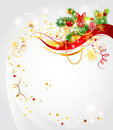 Light Christmas background Royalty Free Stock Photo