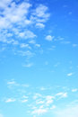 Light clouds in the sky Royalty Free Stock Photo