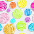 Light colorful bubbles pattern Royalty Free Stock Photo