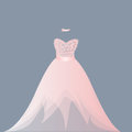 Light pink ballgown dress