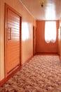 Light corridor Royalty Free Stock Images