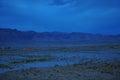LIGHT IN DESERT Royalty Free Stock Photo