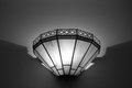 Light fixture mission style Royalty Free Stock Photo