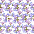 Light floral spring background. Seamless cute spring or summer floral pattern for fabrics and tiles