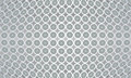 Light gray center oriented texture tile background circles dots rounds Stock Images