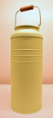 Light Green Color Milk Can Royalty Free Stock Photo