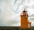 Light house in south west of iceland Royalty Free Stock Photos