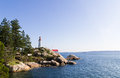 Light house in vancouver canada Stock Photo