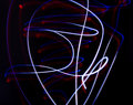 Light painting Stock Image
